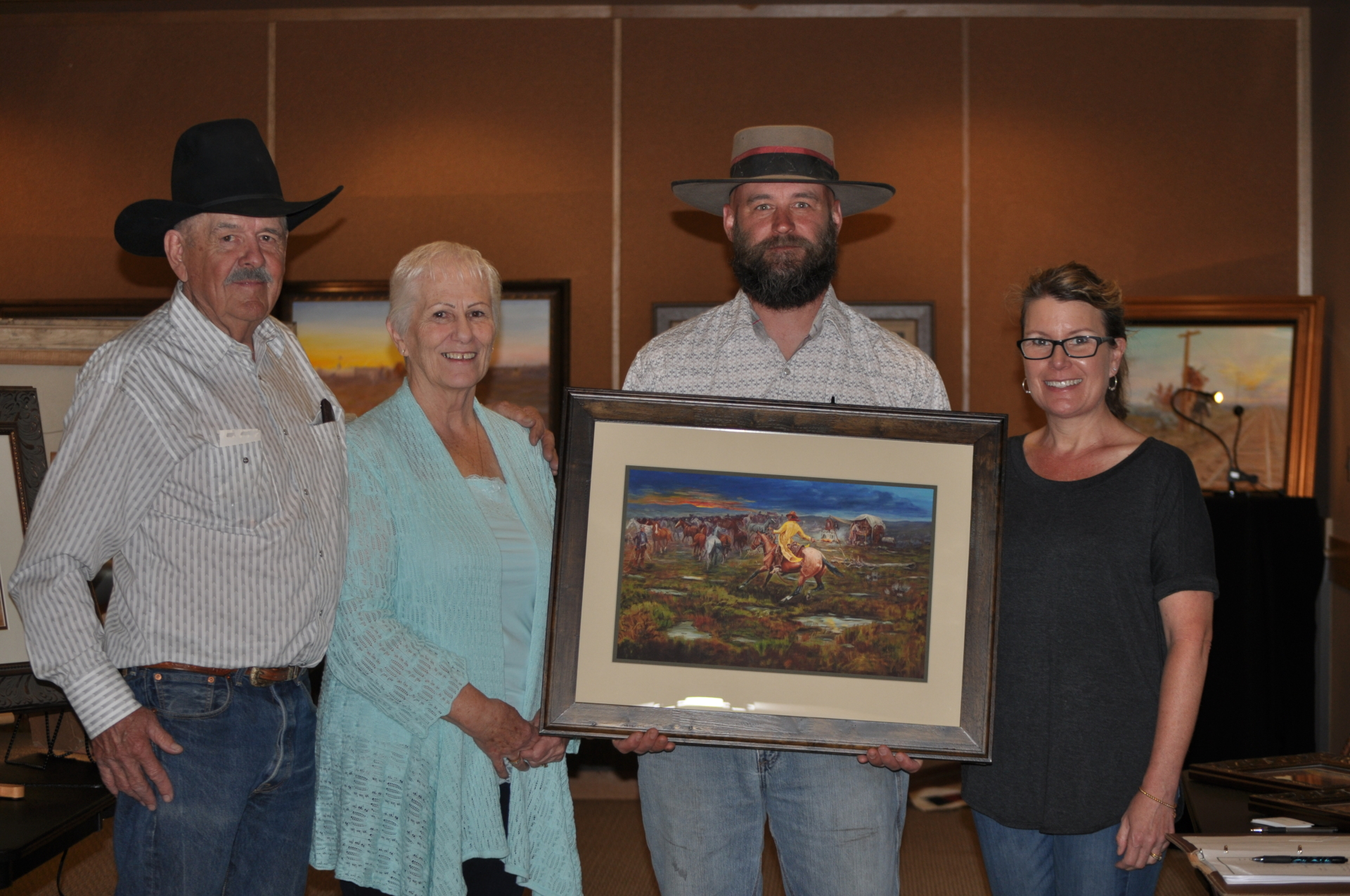 Bringing in the Remuda, Western Art, Len Babb Western Art, Charles M Russel, Old west history, buckaroo, cowboy art